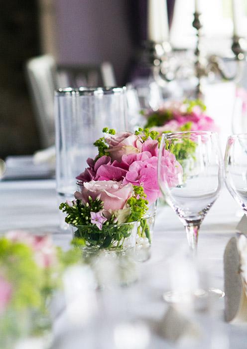 Foto Hochzeit - Tischdekoration