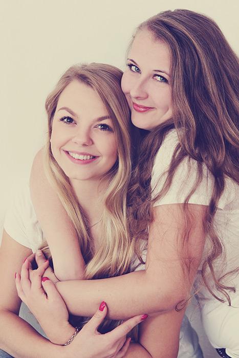 Foto Portrait - Zwei Freundinnen
