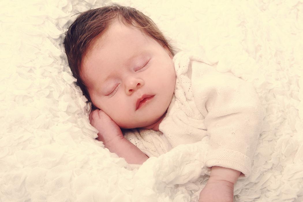 Foto Kinder Newborn - Baby schlafend