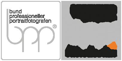 Qualitätssiegel vom bund professioneller portraitfotografen